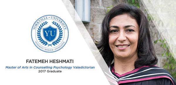 MACP Valedictorian Fatemeh Heshmati Finds Her Path