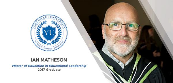 MEEL Alumnus Ian Matheson Proves His Leadership Abilities as Valedictorian