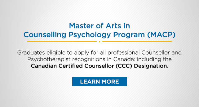 MACP Grads now Eligible for Canadian Certified Counsellor (CCC) Designation
