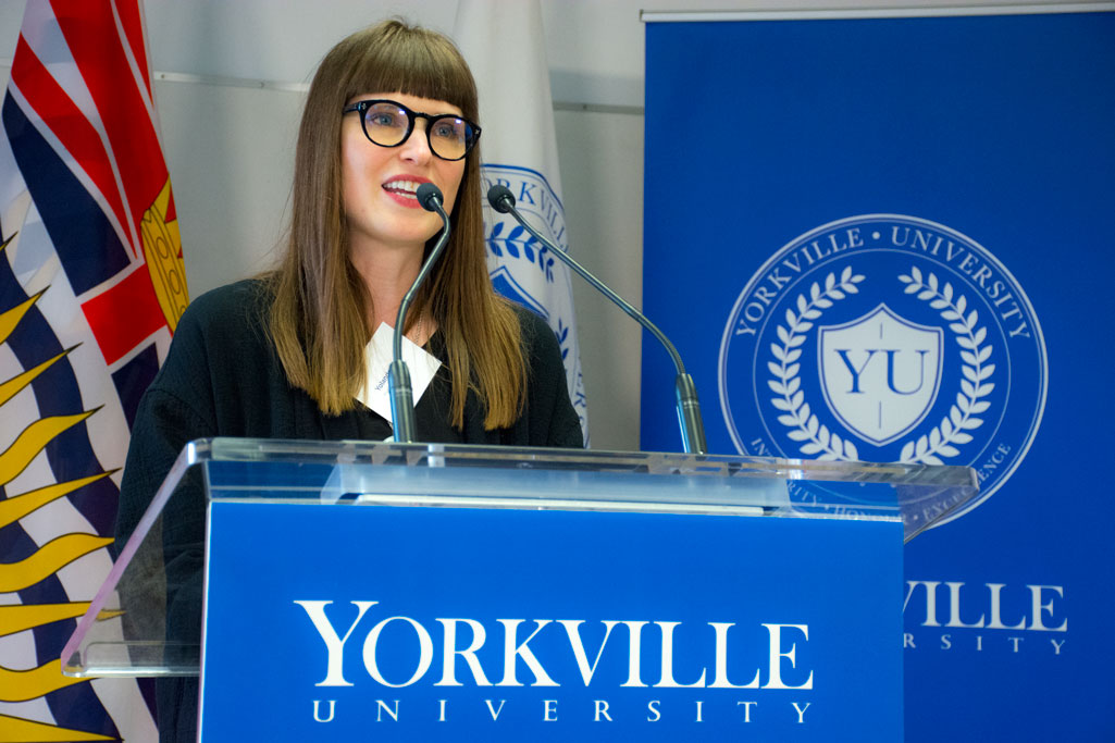 Yorkville University Alumni Share Inspiring Stories in Person and on Video