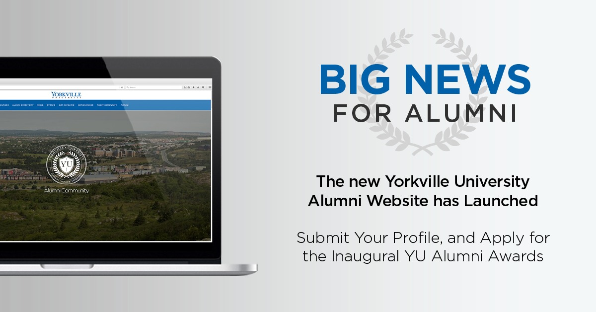 Alumni Office Launches Website and Inaugural Alumni Achievement Award