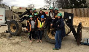 Bachelor of Interior Design Students Help Out Habitat for Humanity