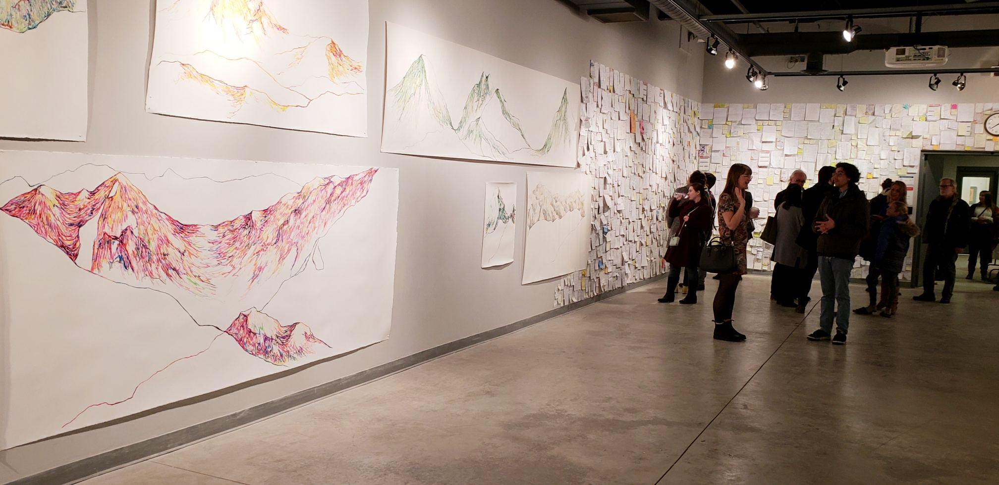Yorkville Professor Mounts Solo Art Exhibit