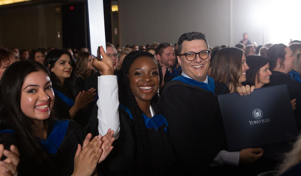 Yorkville University celebrates achievements of 300+ BBA, MACP and MEd students at 2019 Graduation