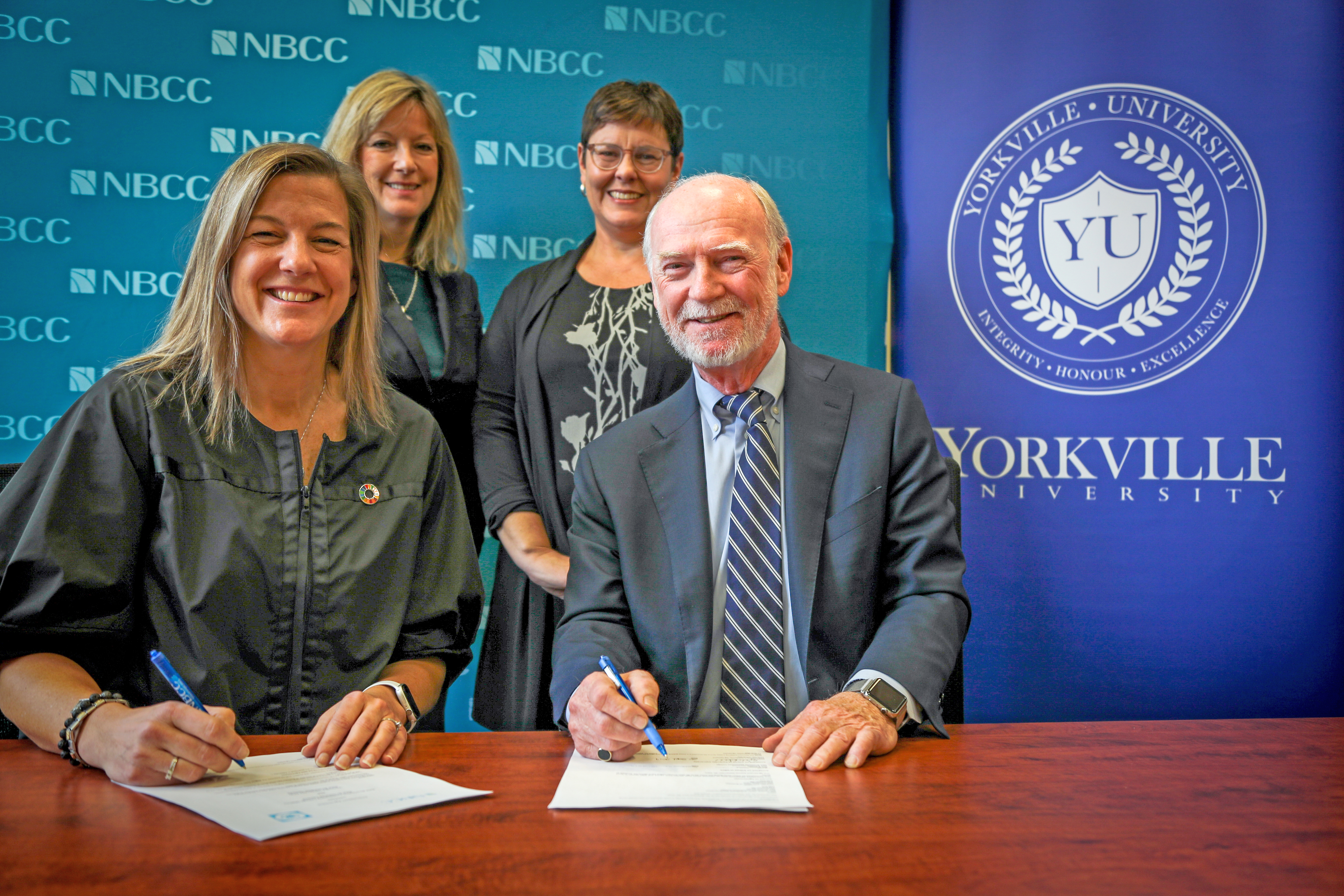 NBCC and Yorkville University agree to new business degree pathway