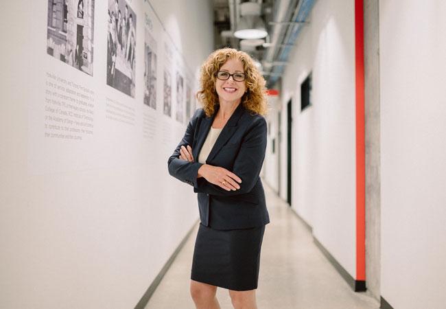 Yorkville University President Dr. Julia Christensen Hughes